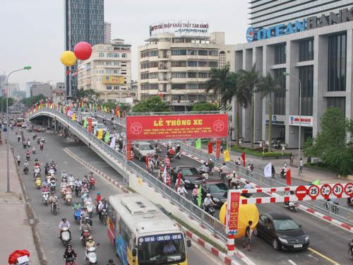 Cầu Vượt đường Láng Hạ, q Đống Đa, Tp Hà Nội