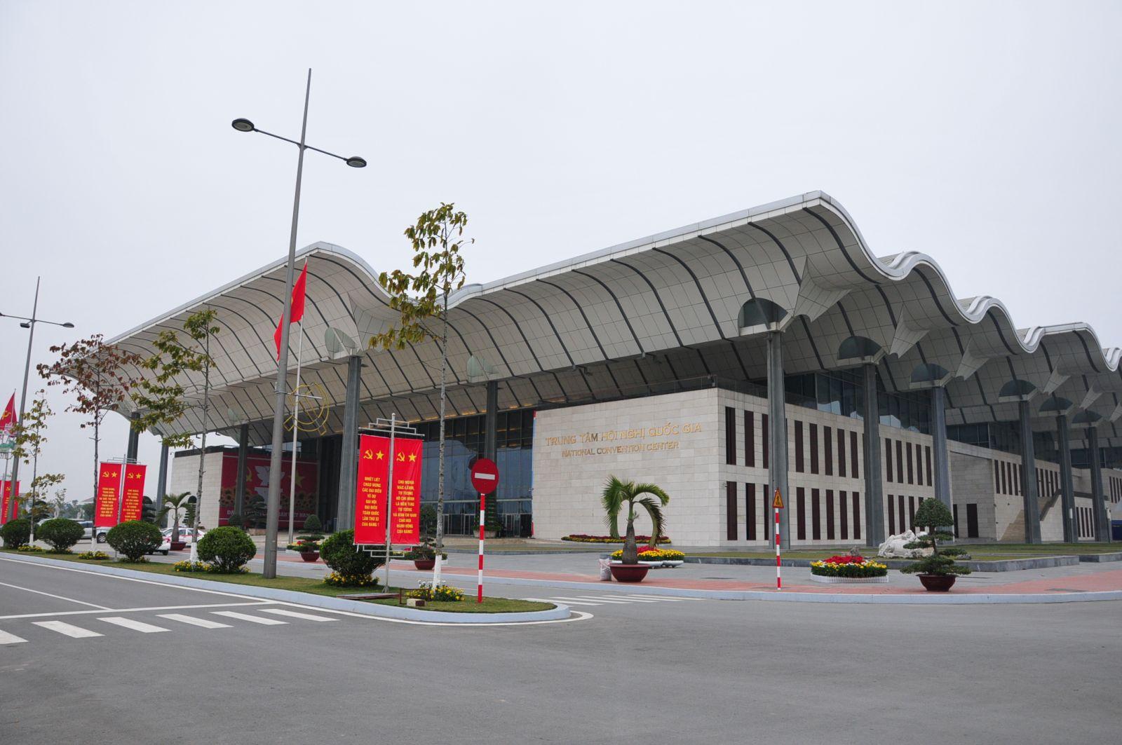 Tòa nhà  Trung tâm Hội Nghị Quốc Gia - Hà Nội